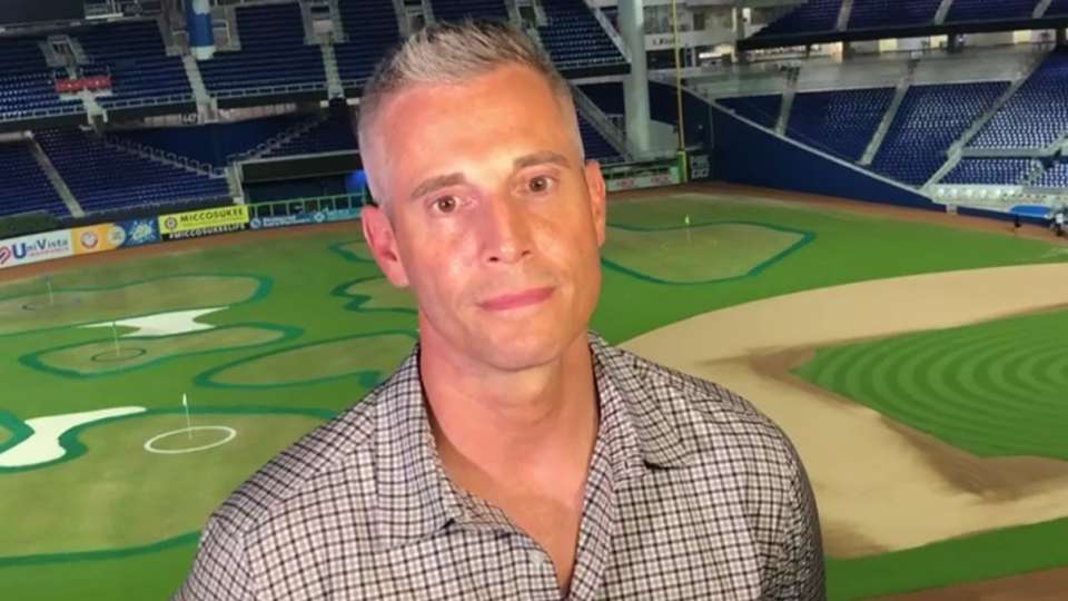 Bowers on golf at Marlins Park