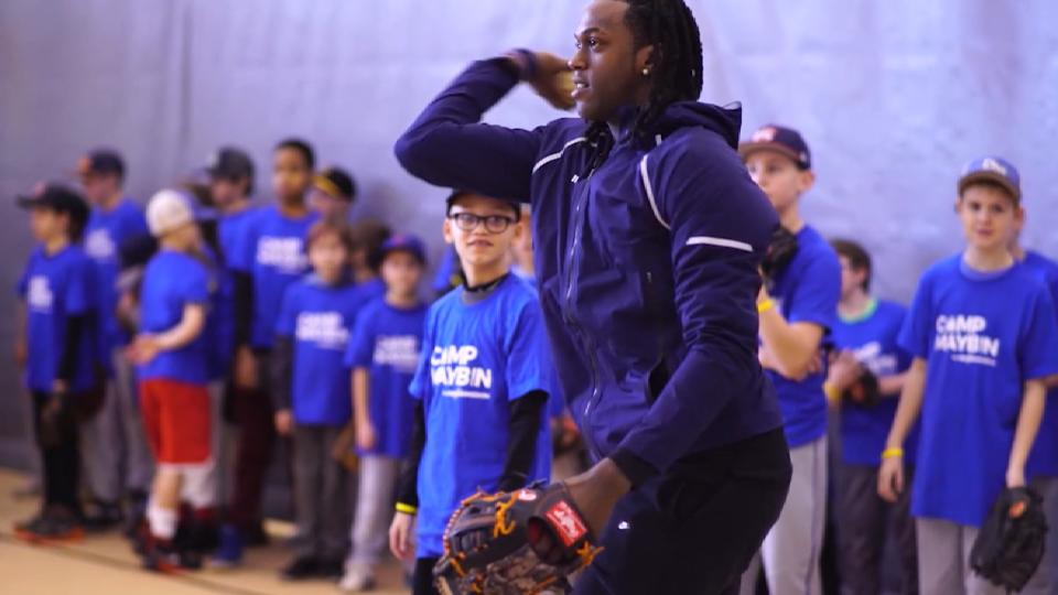 Maybin on his Mission Program