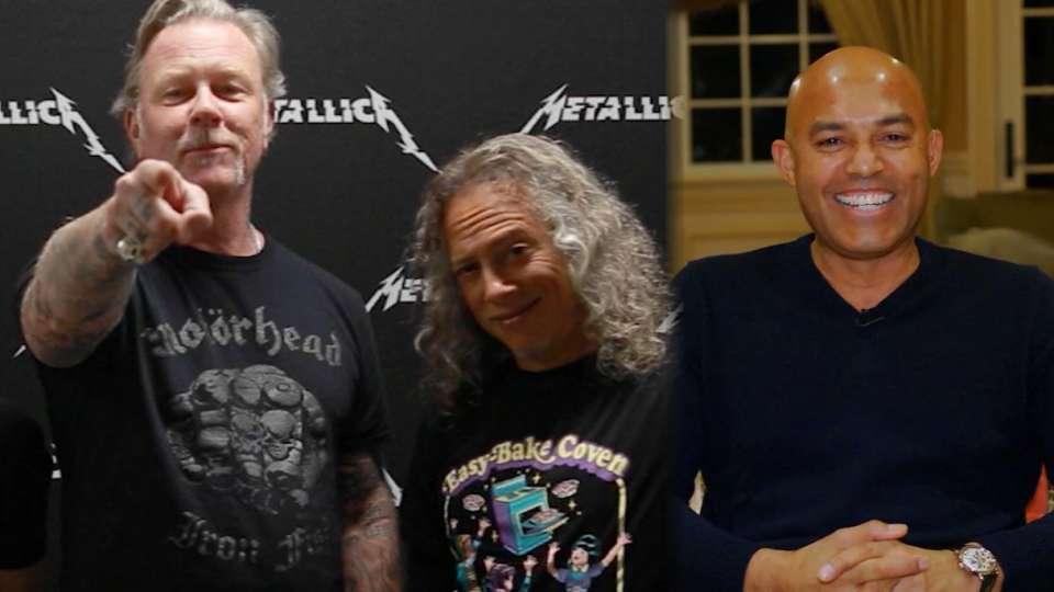 Metallica congratulates Rivera