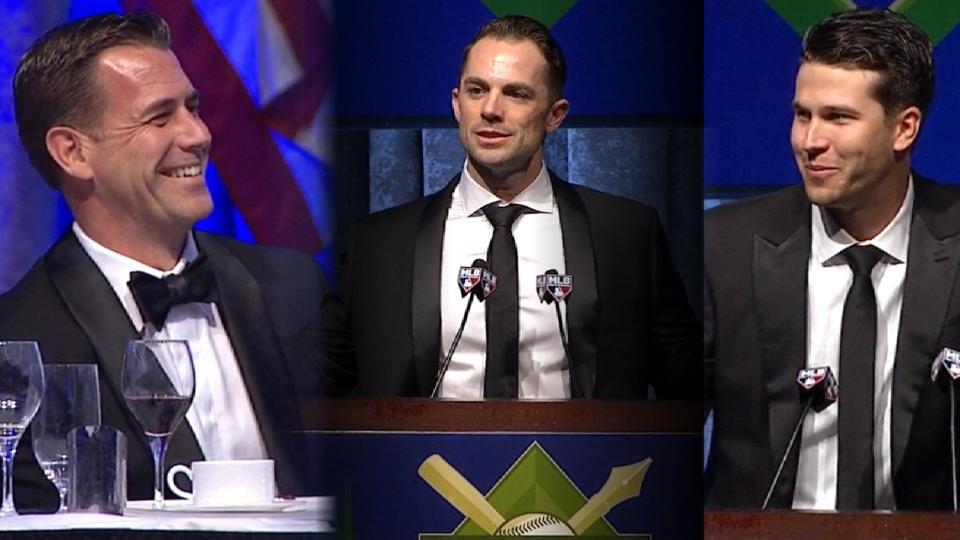 Mets honored at BBWAA Dinner