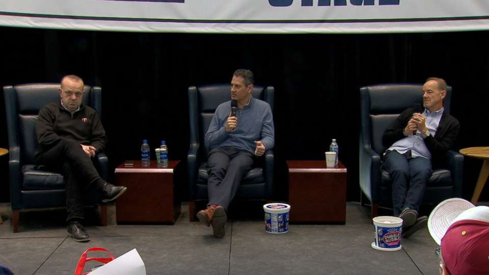 Twins execs on team's potential