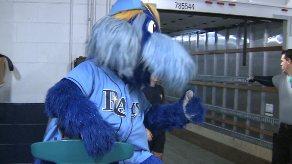 Rays ship gear off for spring