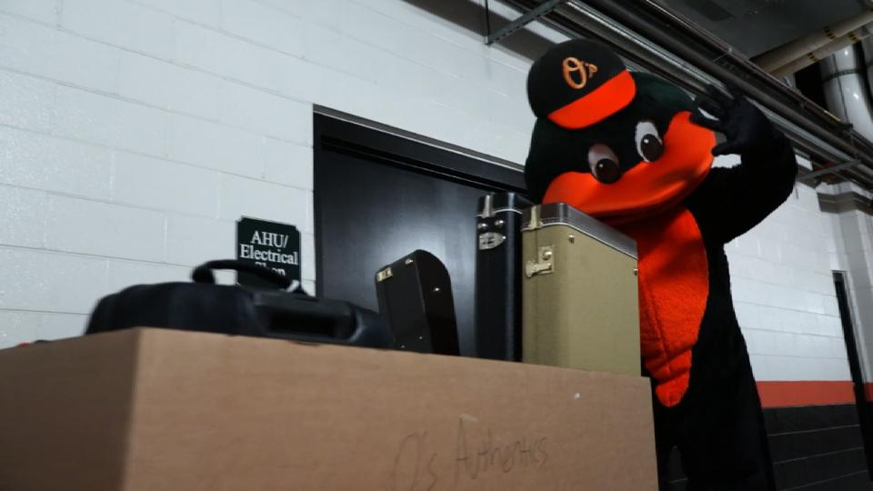 Orioles ship gear off for spring
