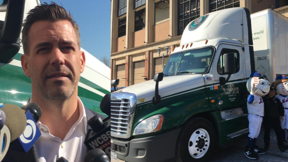 Van Wagenen, Mets host Truck Day