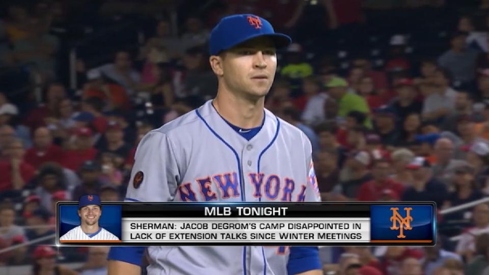 deGrom's contract situation