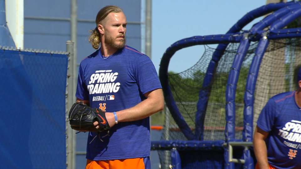 Thor arrives at Spring Training
