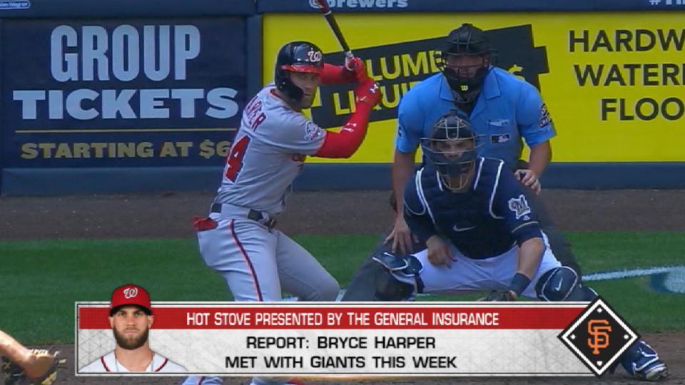 Giants meet with Harper