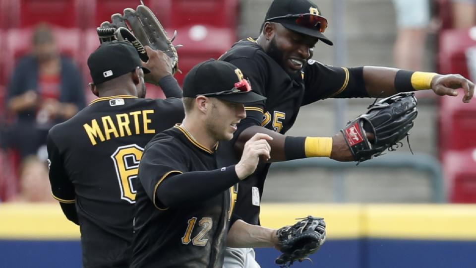 Pirates have outfield depth