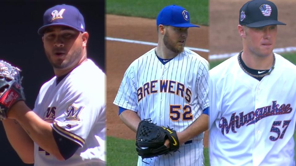 Brewers have bevy of pitching