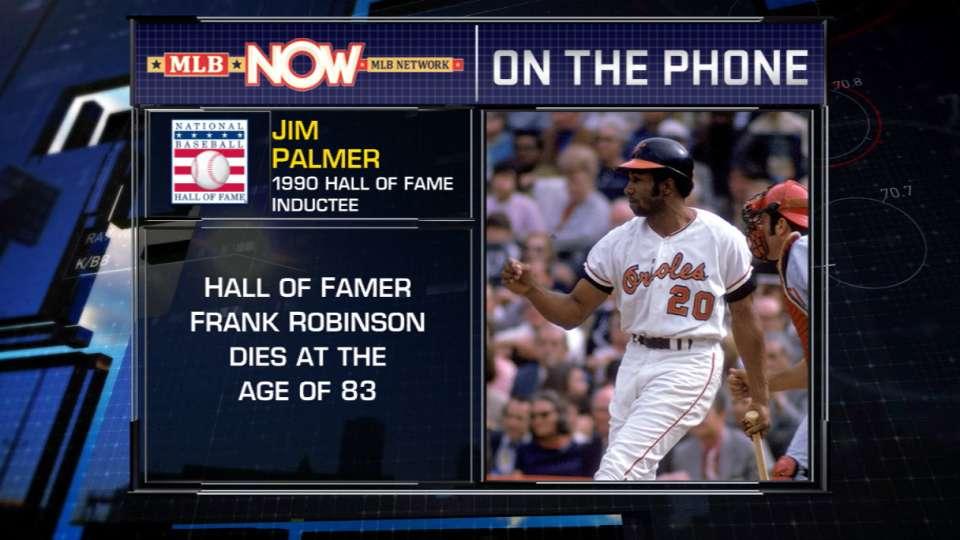 Jim Palmer on Frank Robinson