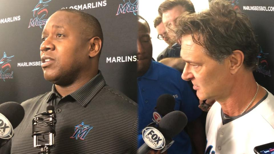 Hill, Mattingly on Realmuto deal