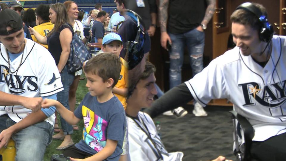 Rays hold Fan Fest at Tropicana