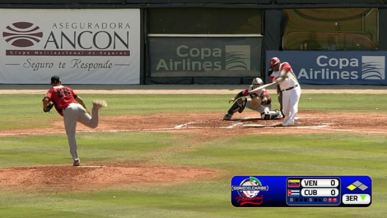 ec7fb444be600 Cuba superó a Venezuela para meterse en la final de la Serie del Caribe