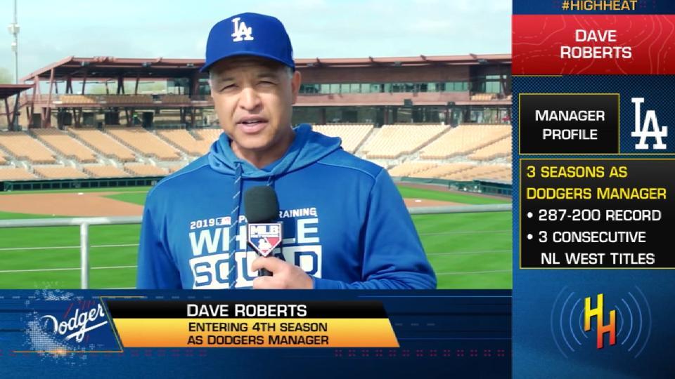 Dave Roberts joins High Heat