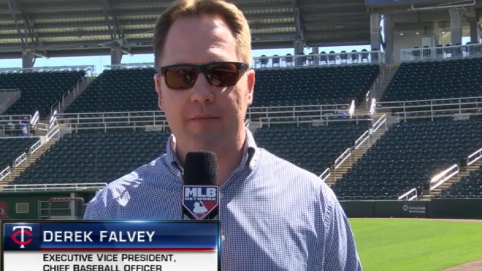 Falvey previews 2019 Twins