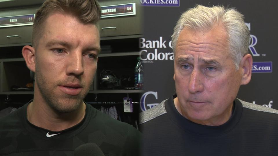 Rockies on Anderson's growth