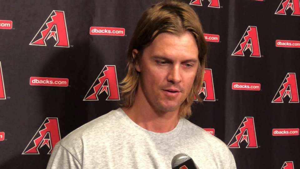 Greinke on how he's feeling