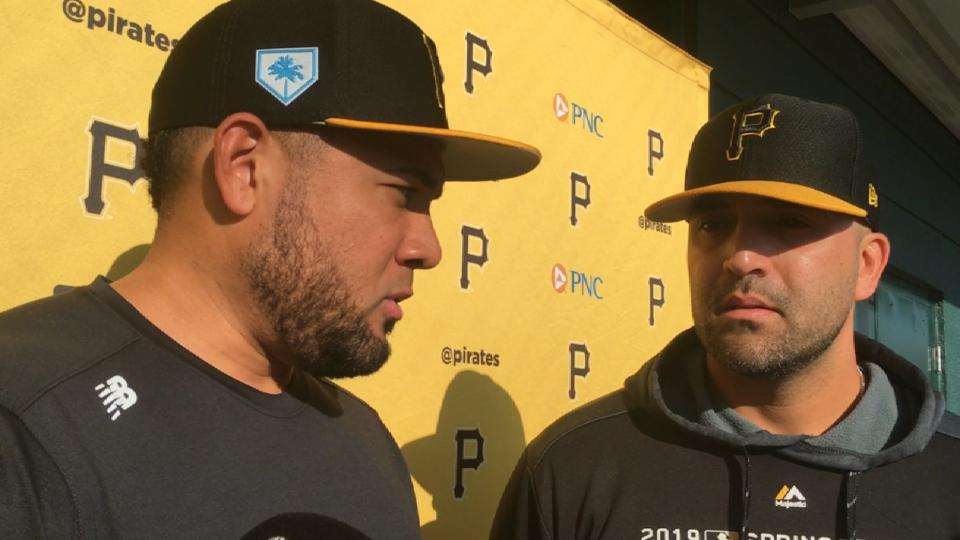 Cabrera on signing with Pirates