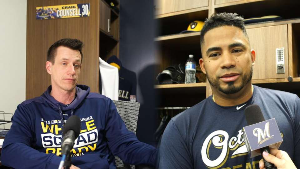 Counsell, Guerra on changeups