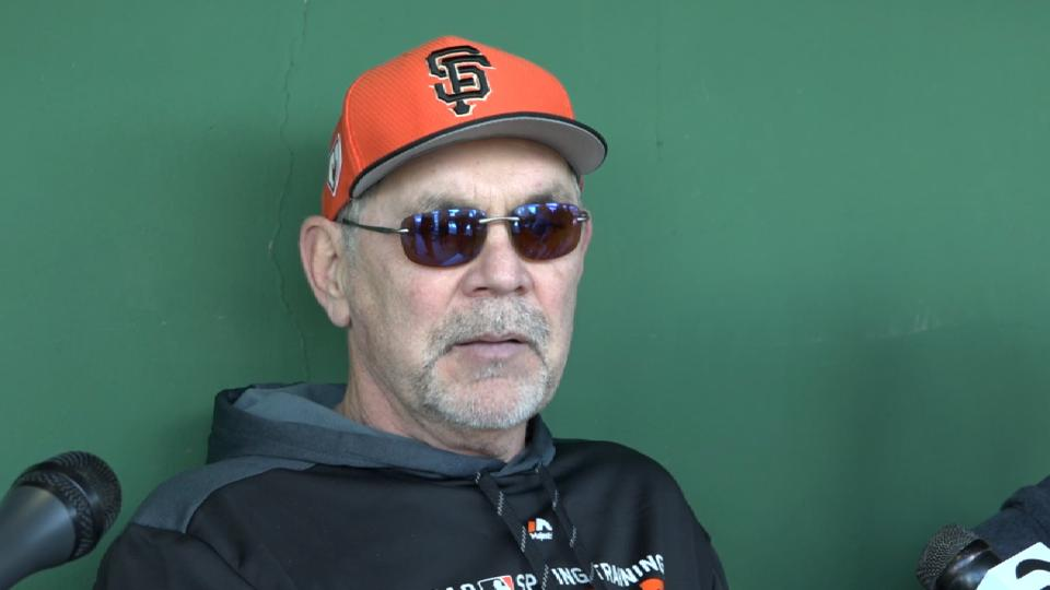 Bochy on Giants' additions