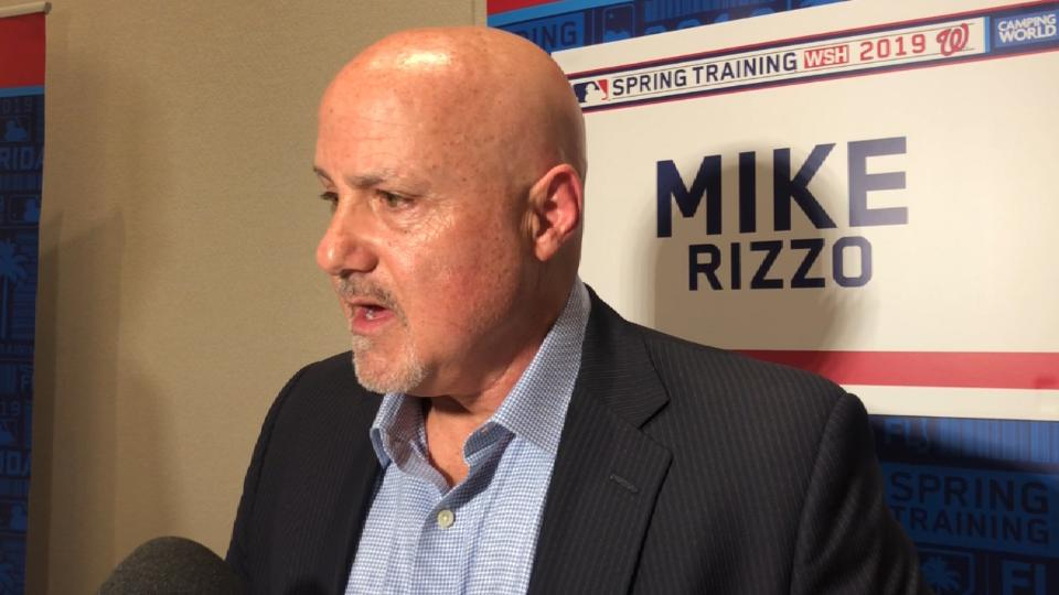 Mike Rizzo on offseason moves