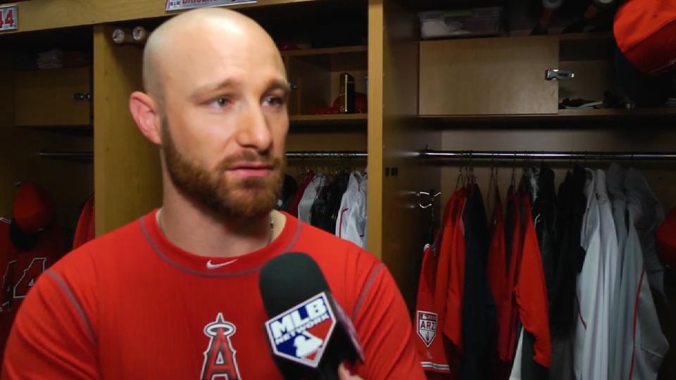 Lucroy on joining Angels