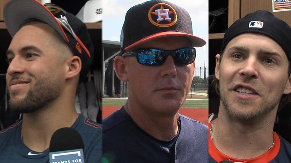 Astros discuss expectations