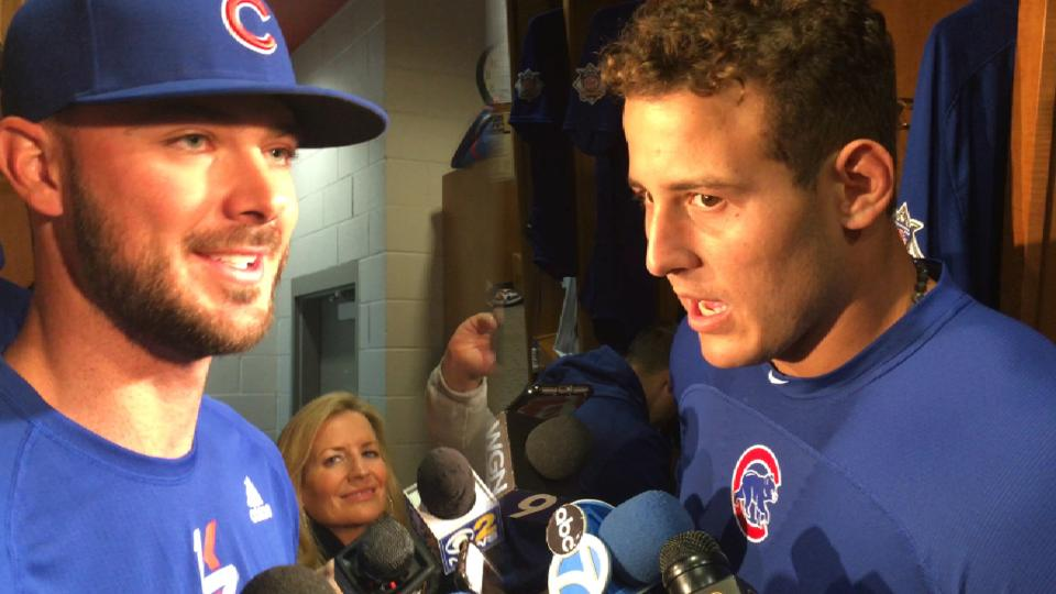 Bryant, Rizzo on leadership