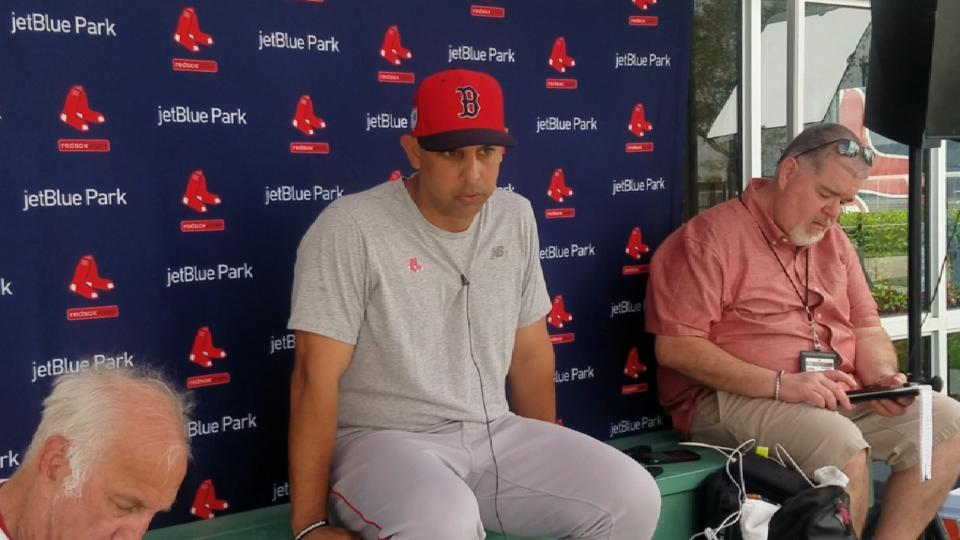 Cora on Red Sox mindset