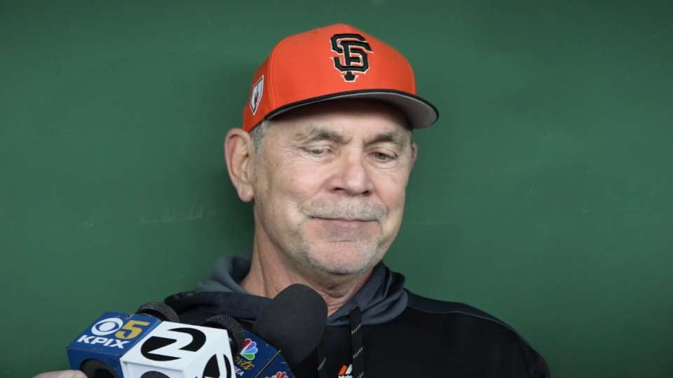 Bochy on retiring after 2019