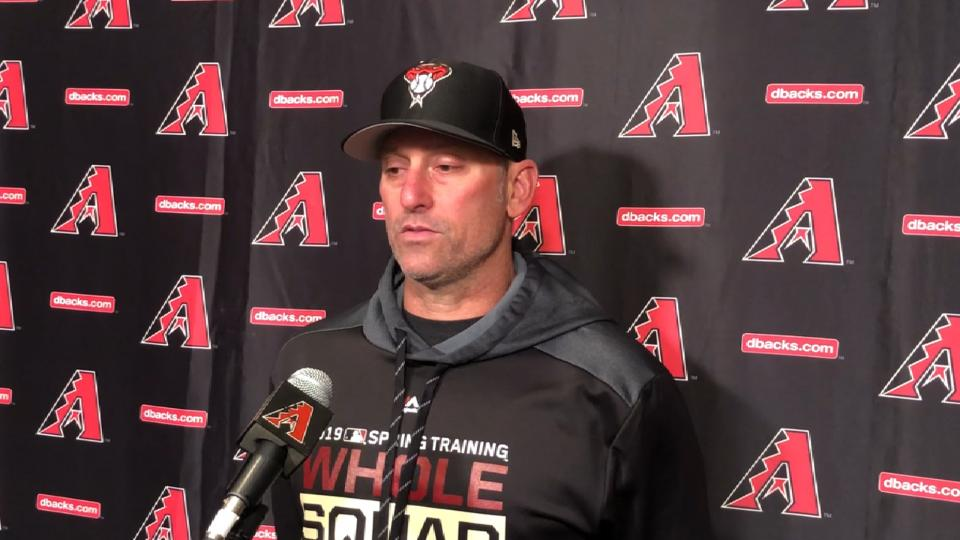 Lovullo on cold weather, unity