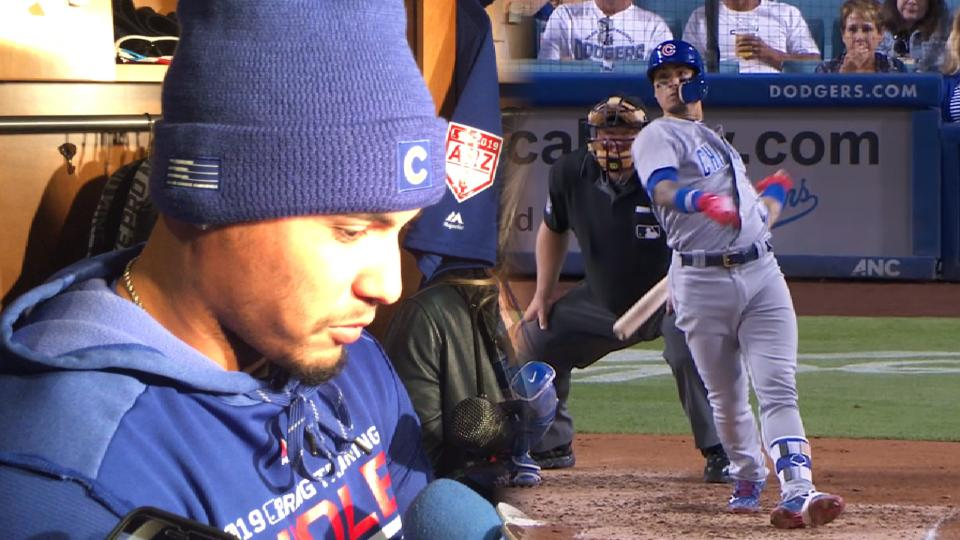 Baez on moving on from 2018