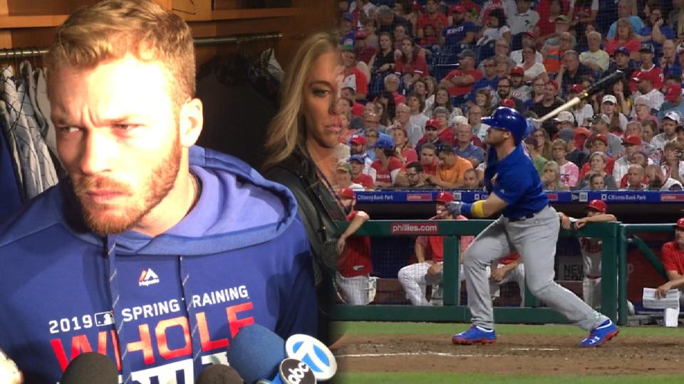 Happ on playing second base