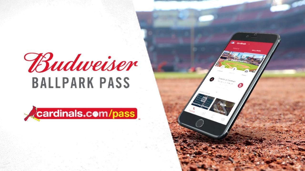 a48d5d54187 Budweiser Ballpark Pass   St. Louis Cardinals