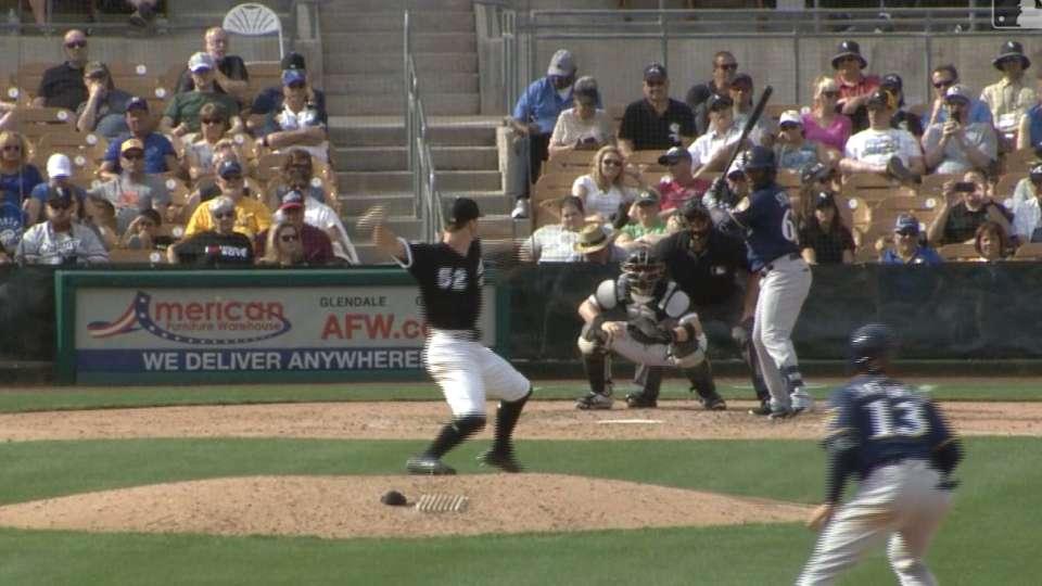Stokes Jr.'s three-run HR
