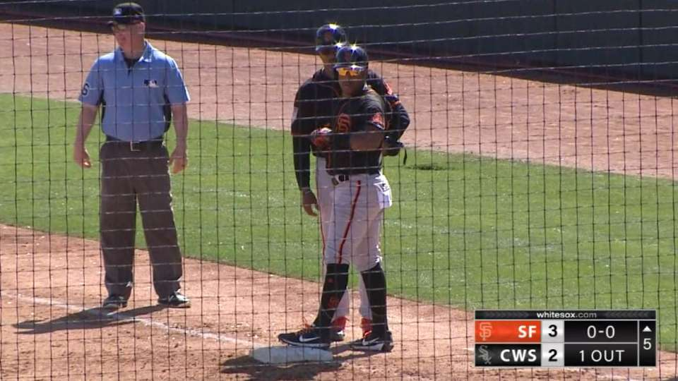 Solarte gives Giants the lead