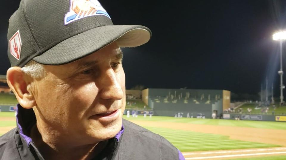 Black on 6-5 win over Padres