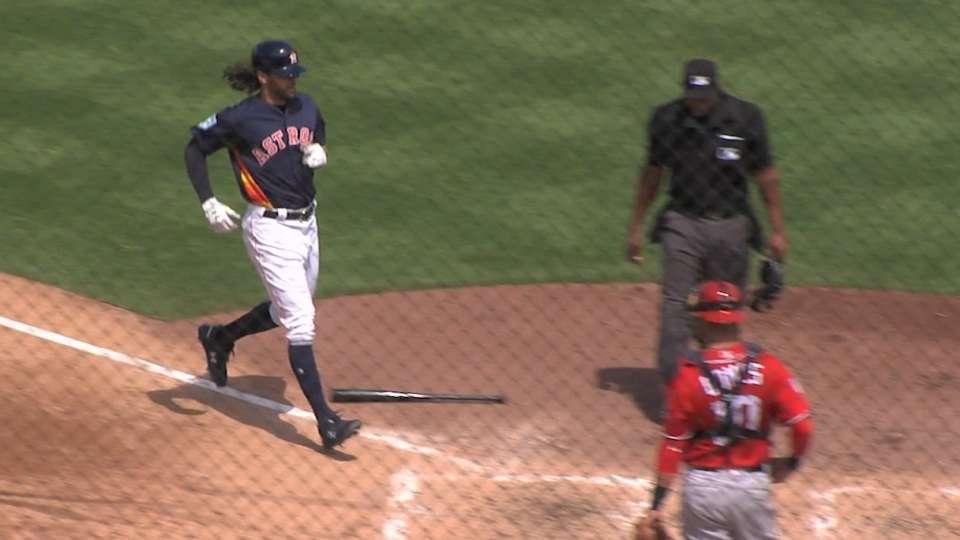 Marisnick's solo home run