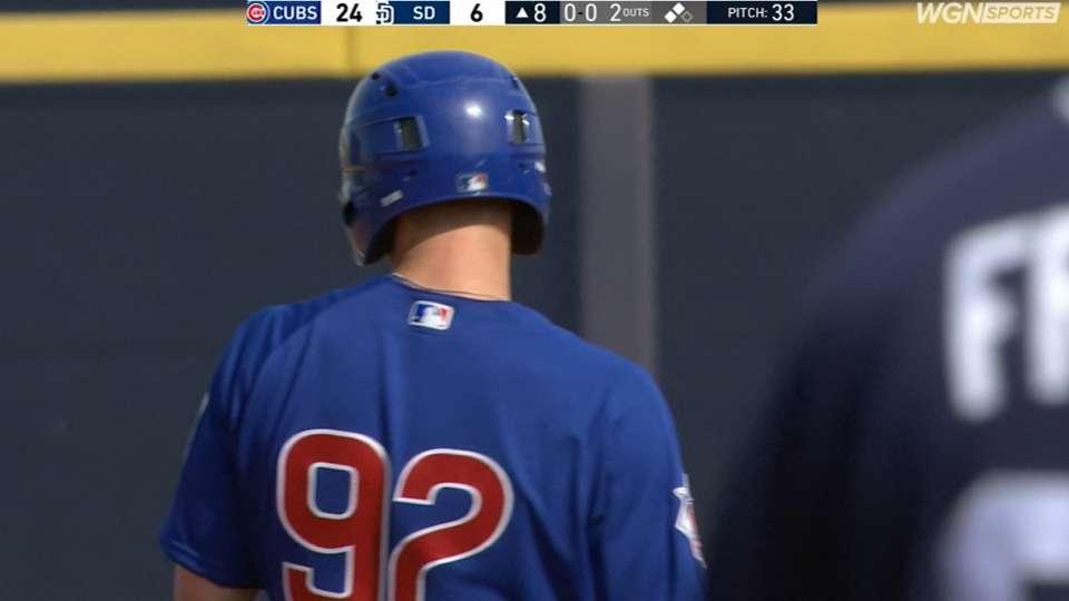 Wilson scores Cubs' 24th run