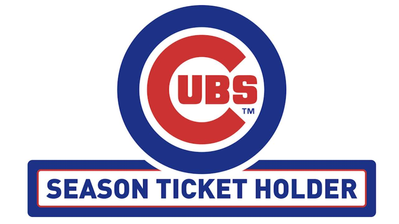 Cubs Season Ticket Holders Chicago Cubs