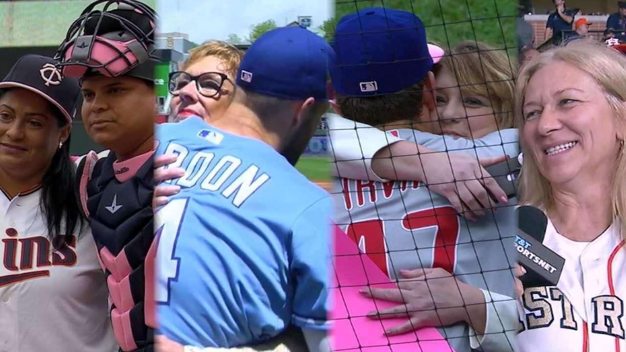 f4e8088a4f7 MLB celebrates Mother s Day