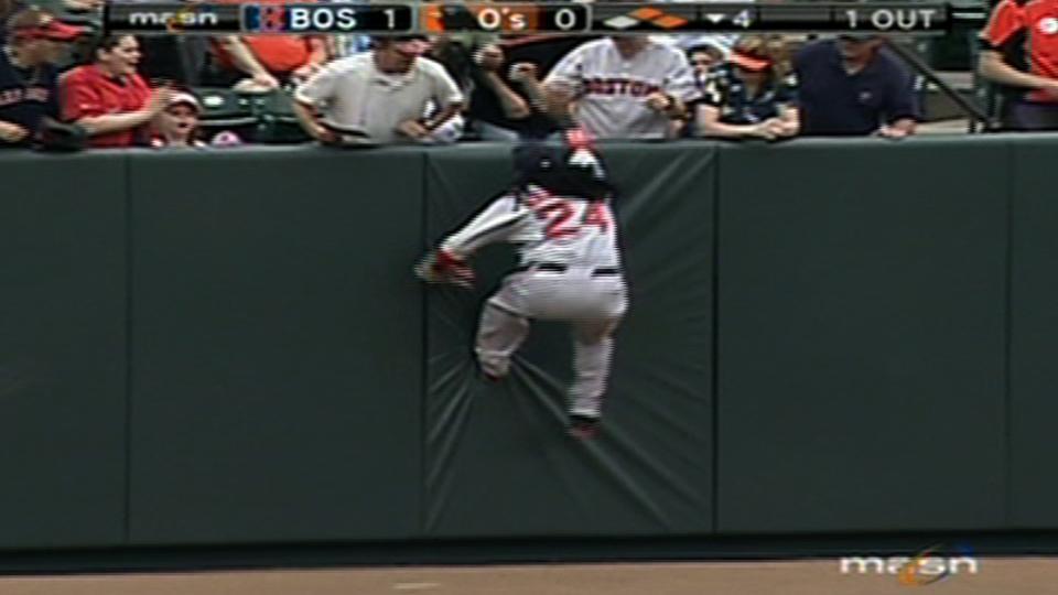 Ramirez's amazing catch