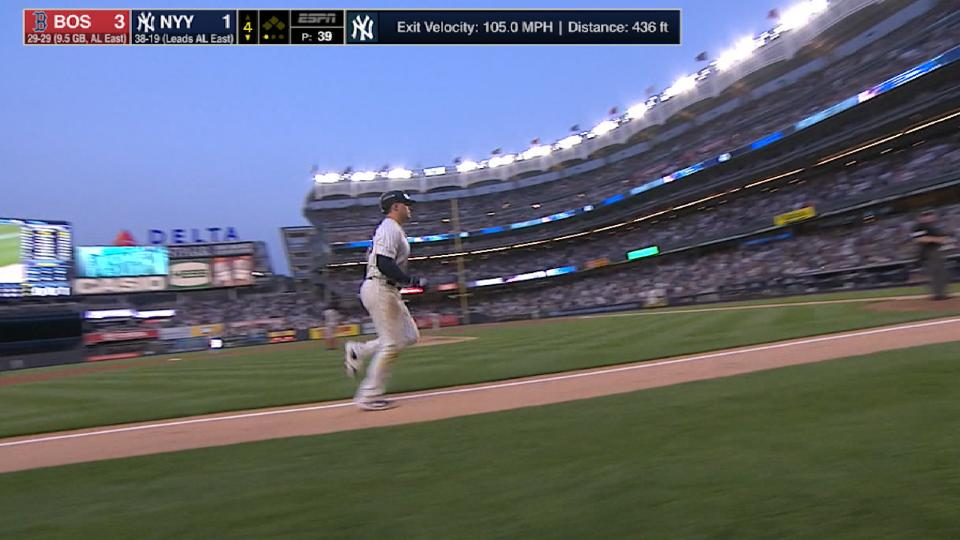 Voit's towering solo home run