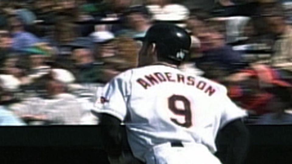 Anderson's solo shot